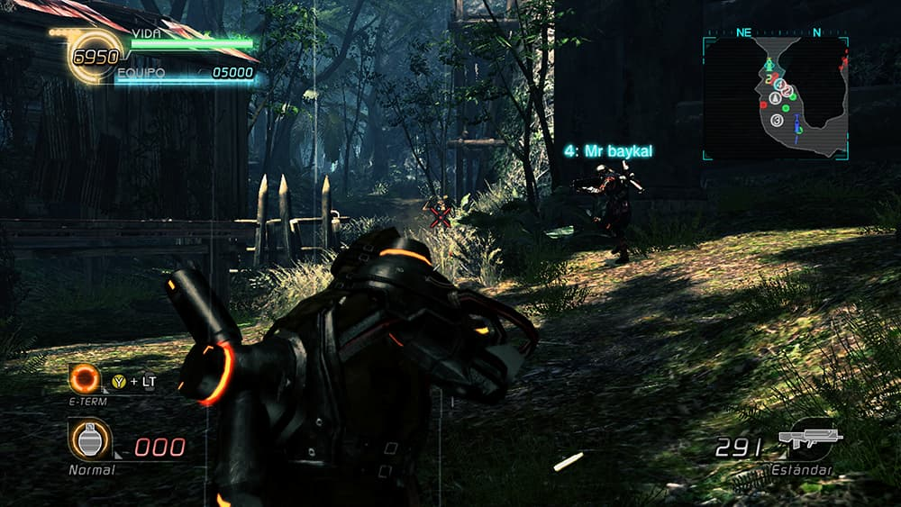 LOST PLANET 2 Combate 02